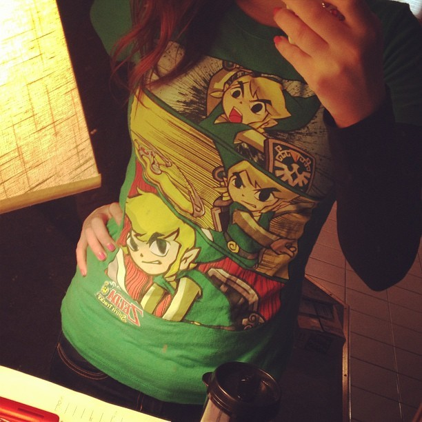Favorite shirt today~ #ootd