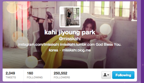 kahi just made a tumblr!follow miss kahi here