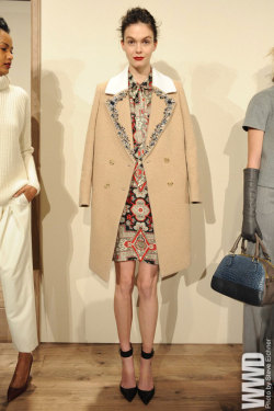 womensweardaily:  J.Crew RTW Fall 2013 The collection was one of the brand's most vibrant, ornate and expensive-looking in a while.  For More For all WWD.com's RTW coverage