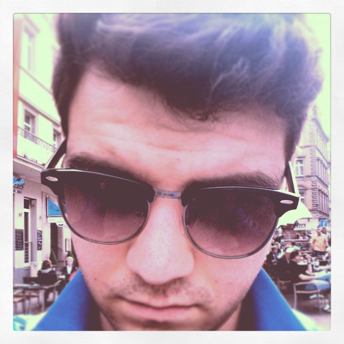 #indie #hipster #vintage #sunglasses #germany #konstanz #boy