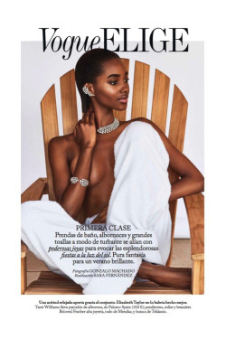 fashionarmies:Tami Williams for VOGUE ELIGE España — July 2018.Photographer: Gonzalo MachadoStylist: Sara Fernández Castrowww.vogue.es
