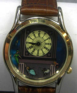 heckyeahdisneymerch:  45th anniversary Peter Pan watch!