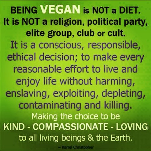 Exactly! 🙌 #vegan #lifestyle  #goveg #compassion #for #all #earthlings #peace #conscious #now