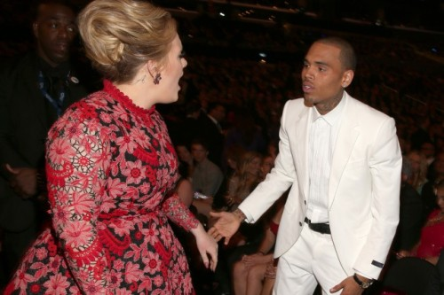 Chris Brown and Adele have officially formed the worst friendship in Hollywood history