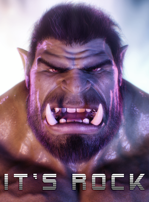IT'S ROCK !!! (n'roll) xD #3d#orc#ukh