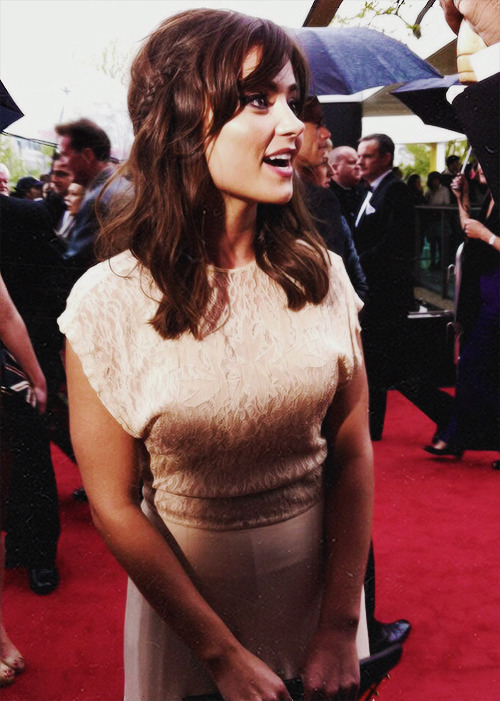 Jenna-Louise Coleman at the BAFTA
