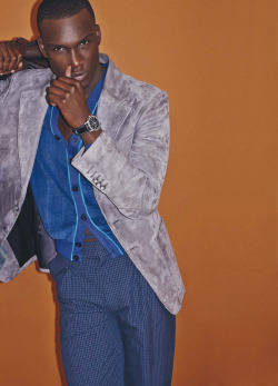 black-boys:  Dylan Williams by Nacho Alegre - TÊTU Magazine  That blazer and that face