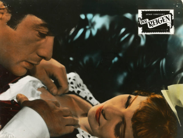 German lobby card for La ronde, 1964.