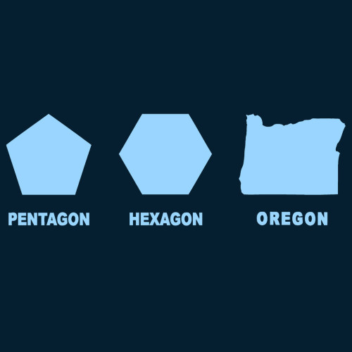 filleduponbread:  The shape of Oregon.