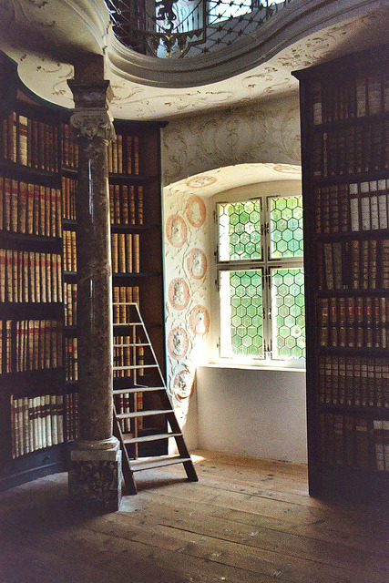 dearscience:  Library in monastery Einsiedeln