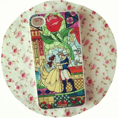 regular-decoratedemergency:  Beauty and the Beast phone case arrived. Now just waiting on my Little Mermaid one 🌹❤