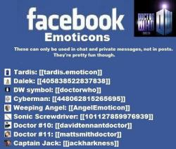 iwanttofonduewithyou:  Facebook chat emoticons! it only works on chat's, not on comments or status updates.
