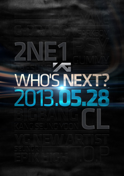 "ygfamilyy:  YG Life Update (130514): ""WHO'S NEXT? #3"""