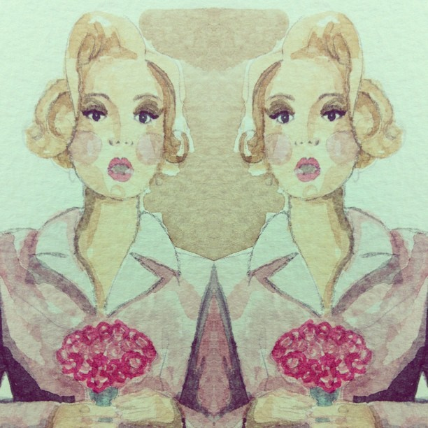 Seeing double, i think i like her face  #fashion #illustration  #sketch #dress #flowers #mitika #mitikasillustrations #inspiration #drawing #art #heart #beautiful #pink #mitikachohan #tweegram  #instagood  #love  #iphonesia #photooftheday  #instamoode  #igers #iphoneonly  #iphoneonly  #instagramhub #picoftheday  #jj   #instadaily #bestoftheday  #igdaily