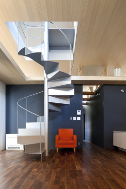 remash:  ribbon | stair ~ komada architects' office