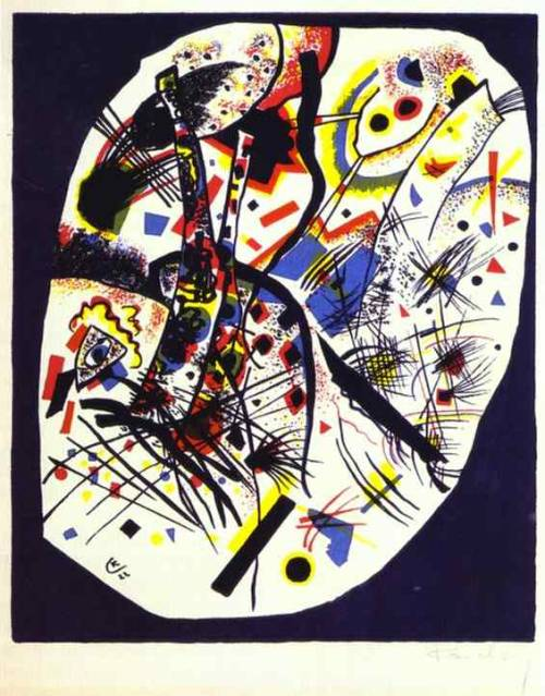 german-expressionists:  Wassily Kandinsky, Small Worlds III, 1922
