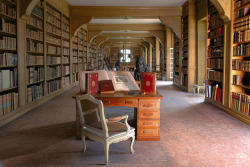 Library of the Ducs de Luynes Chateau de Dampierre