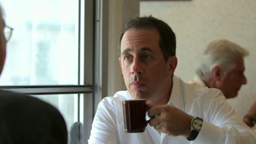 "npr:  After years of not understanding coffee, Jerry Seinfeld says he's finally discovered the delight of meeting someone over a cup. ""You have coffee and for some reason it makes you talk a lot,"" he says. So Jerry Seinfeld Called Us To Talk About Coffee : The Salt  Photo: YouTube Also, a MUST HEAR: Jerry Seinfeld Scolds Steve Inskeep On The Macchiato When the comedian asked the NPR host whether he knew what a macchiato is, Inskeep had to confess he didn't. And this happened during Morning Edition's ""coffee week!"" Seinfeld was amused. Inskeep says he's now going to go try one of the coffee drinks."