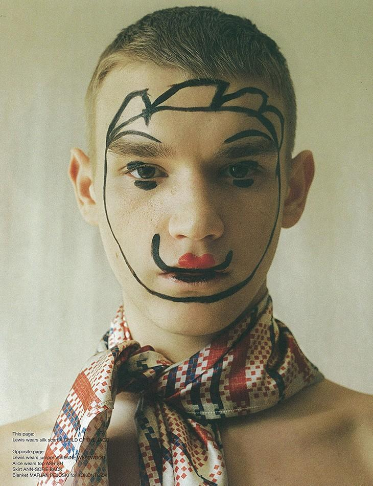 cocaineabuse:  Lewis Conlon in Let's Get LostKim Jakobsen for I Love Fake Magazine