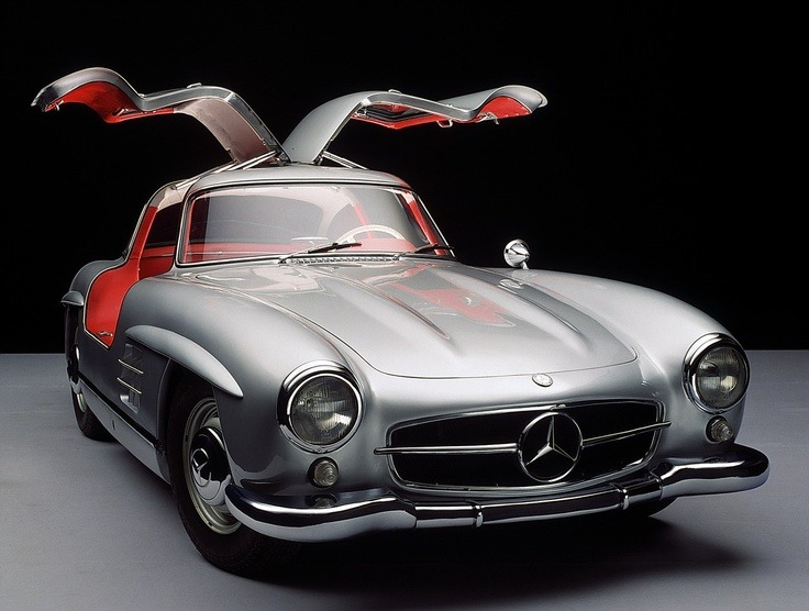 manchannel:  Mercedes Benz 300SL Gullwing