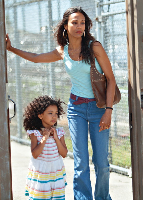 zoe saldana | blood ties