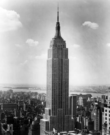Empire State Building, circa 1940s   Click here to view the item in our Digital Archives.