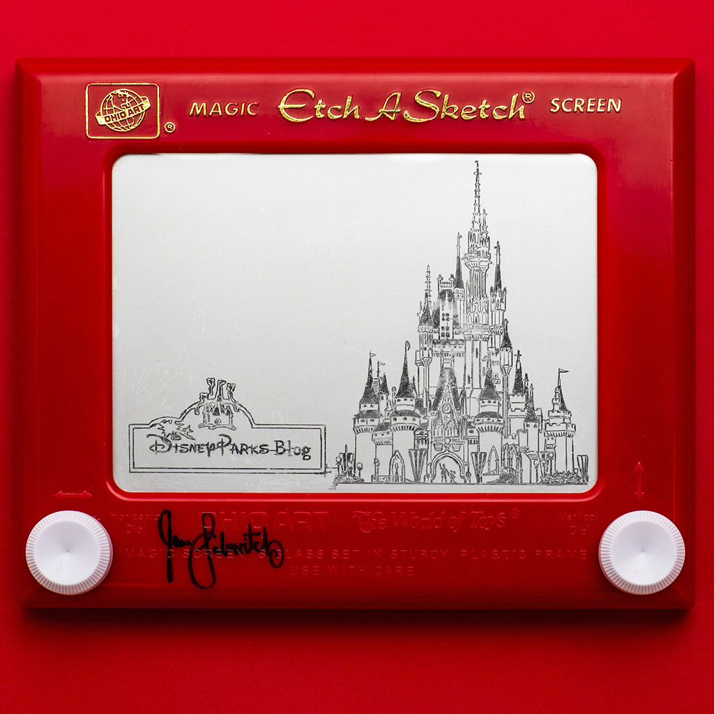 srftoy:  Unreal Etch A Sketch - Disney Style - wow