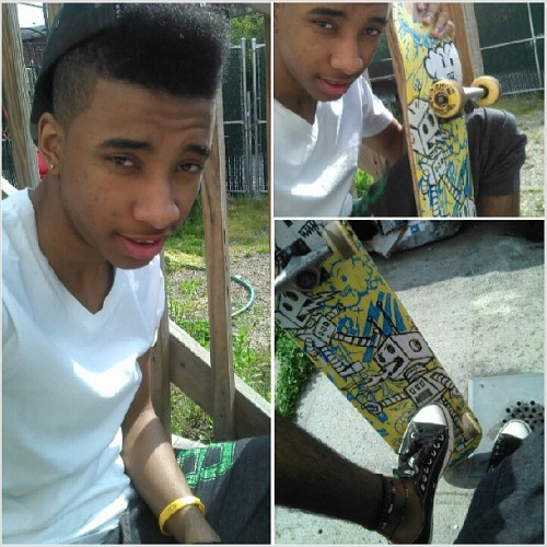 #GoneSkating ^.^ It's been a while mane. Gotta love #Skating #Skateboarding #Skate #GoSkate My #TonyHawk #HuckJamSeries #Board