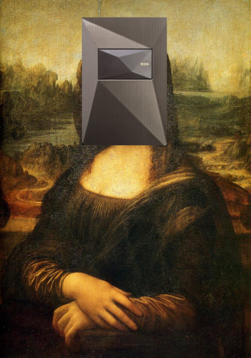 Mona Lisa: This too is an old object and it's not really keeping up to date with the latest in the art world (think Nagle prints)