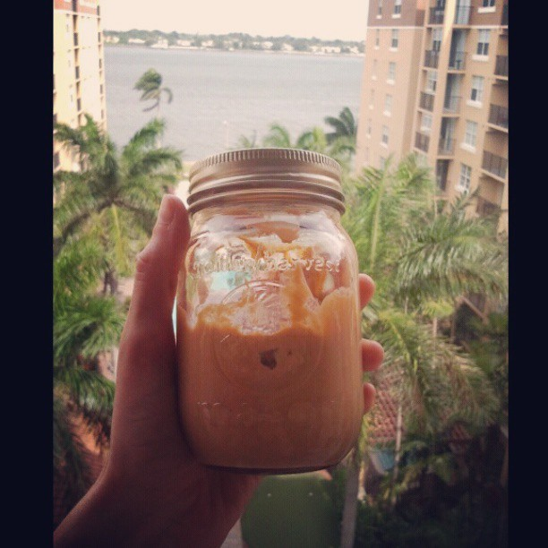 Made my own peanut butter with only peanuts and salt. Obsessed.