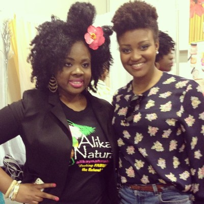 @blackonyx77 #worldnaturalhairshow #naturalhairshowatl #naturalhairshowconvention  She made a bow with her hair soooo CUTE!