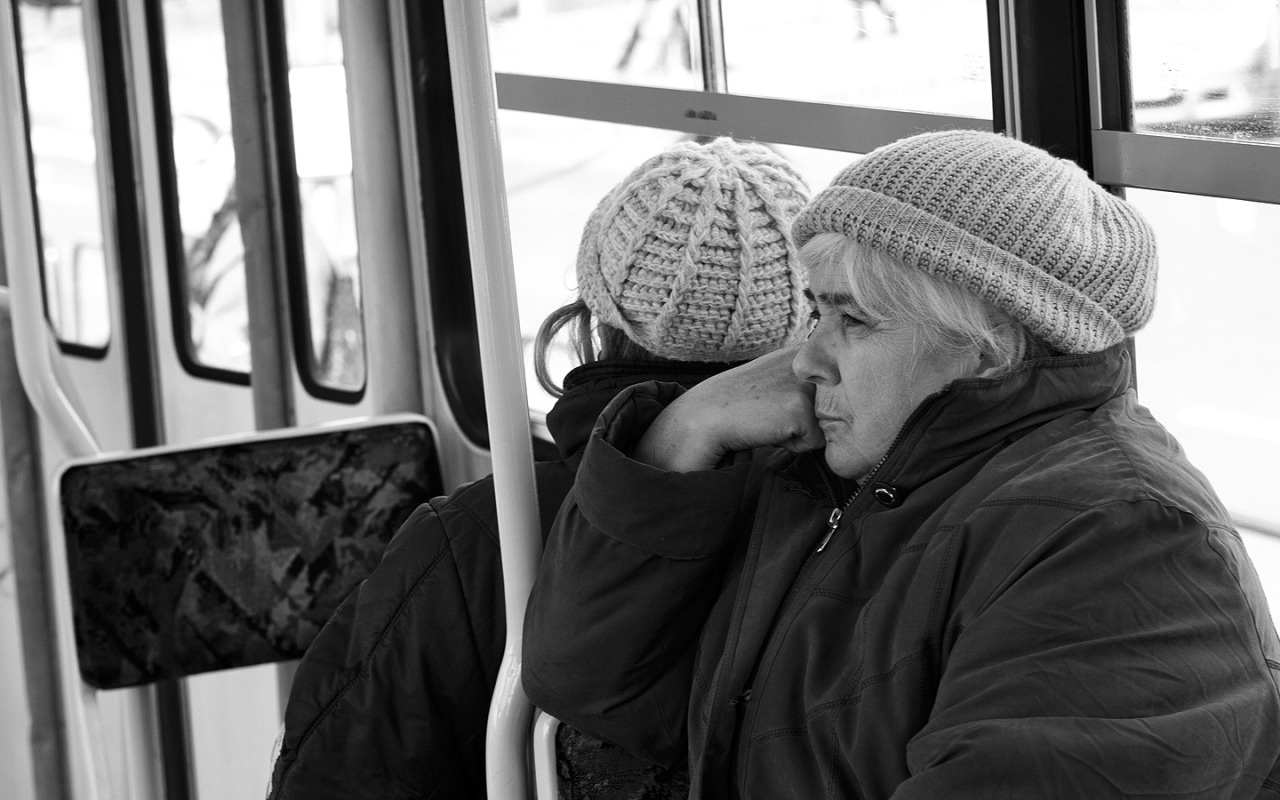 Lost in thoughts, Budapest // March 2008
