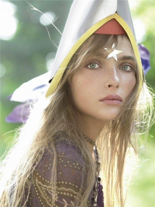 "supermodelgif:  ""Neverland"", Snejana Onopka by Steven Meisel for Vogue Italia August 2005"