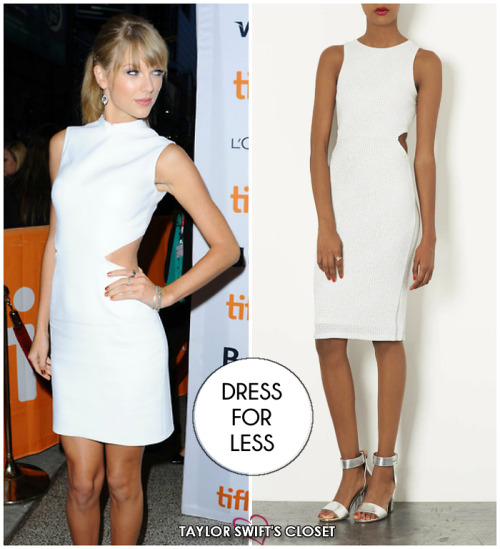 DRESS FOR LESS - Calvin Klein Runway Dress (TIFF)