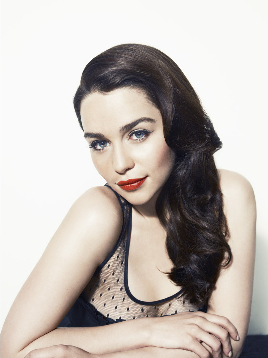 Emilia Clarke - Vanity Fair Vanities by Williams & Hirakawa, April 2012