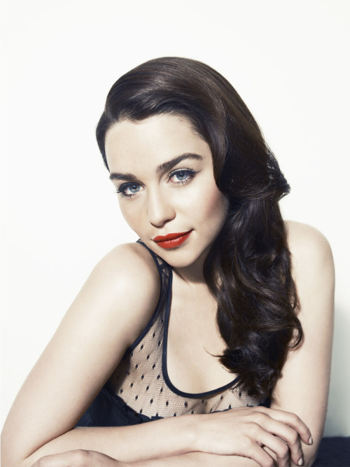 bohemea:  Emilia Clarke - Vanity Fair Vanities by Williams & Hirakawa, April 2012