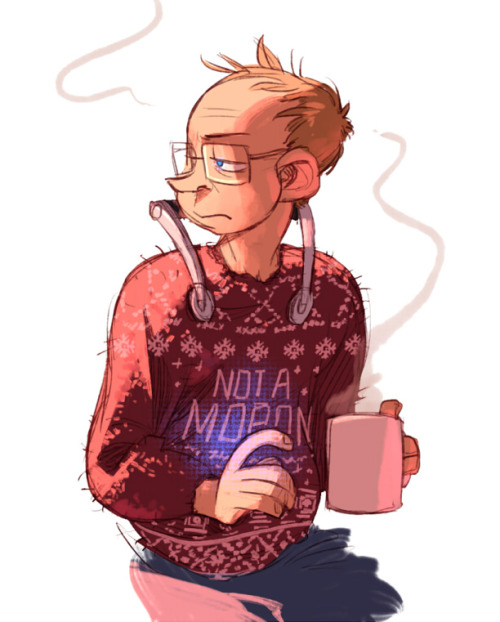 I just really wanted to draw him in that sweater Uppers gave him so great ahhh