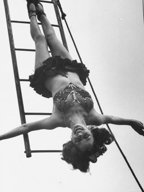 Circus girl Photo by Cornell Capa