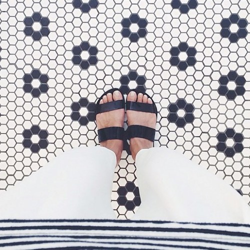 3911293f4c The surface you're standing on is just as important as your adorable shoes  for adding visual interest to the photo. Look for tiles (we especially love  ...