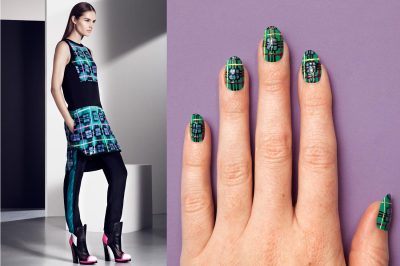 (via moveSlightly: Prabal Gurung Resort 2013 Nail Art on TeenVogue.com)