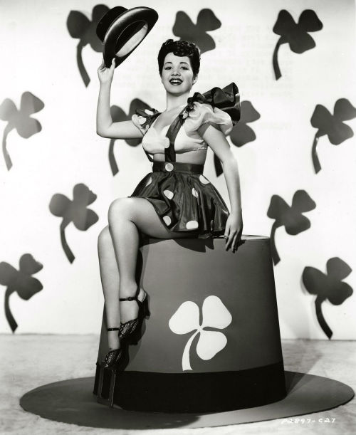 screengoddess:  Olga San Juan 1945   Happy St. Patrick's Day