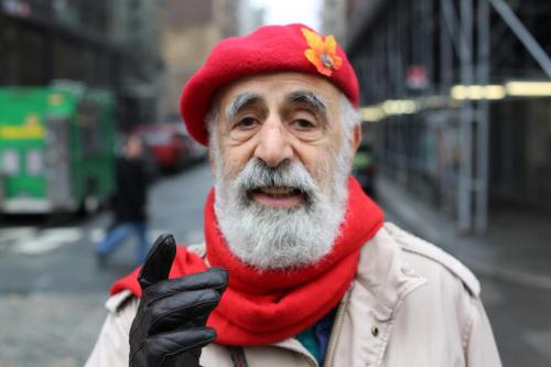 "humansofnewyork:  ""If people don't start paying closer attention, we're going to be living in a corporate fascist state in no time. We're paying $3.50 for a cup of coffee. You know how much a POUND of coffee beans costs? $3.50. But nobody knows that. Cause nobody's paying attention."""
