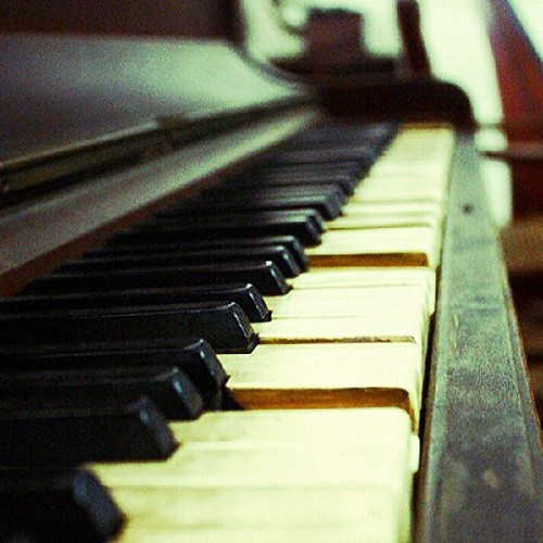 An old #piano from a museum in #Ilocos.