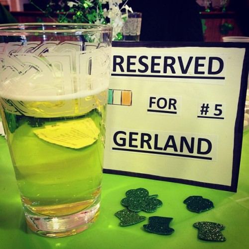 Sláinte! / on Instagram http://instagr.am/p/W-m_JCrNeX/