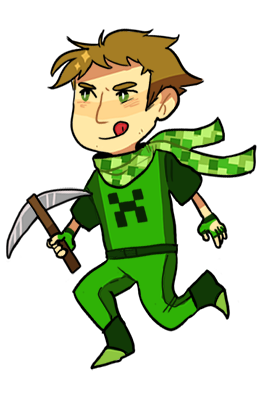 stripedjumpers:  tiny transparent lads!
