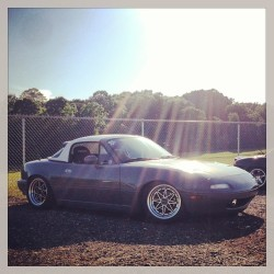 Posted up at pro-am! #miata #mx5 #drift #fdatl