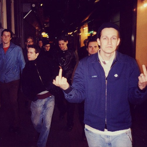 Walking around Amsterdam with The Get Up Kids 2.15.1998