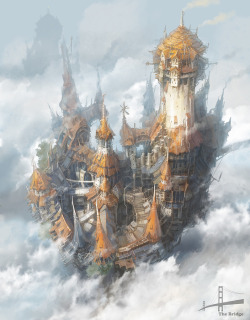 defenestrador:  Steampunk City, by Minseub Jung.