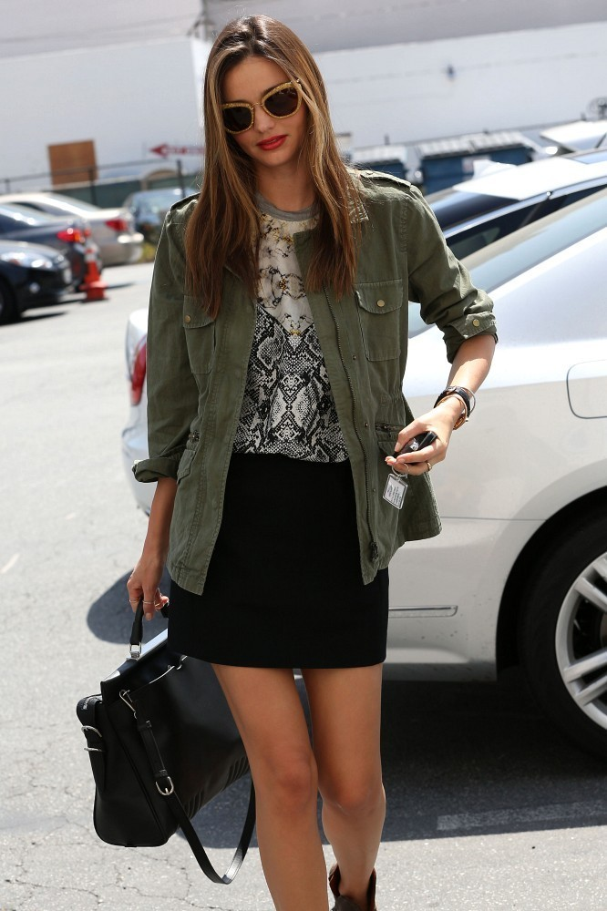 waves-of-perfection:  Miranda arriving to a meeting in Beverly Hills April 12, 2013.