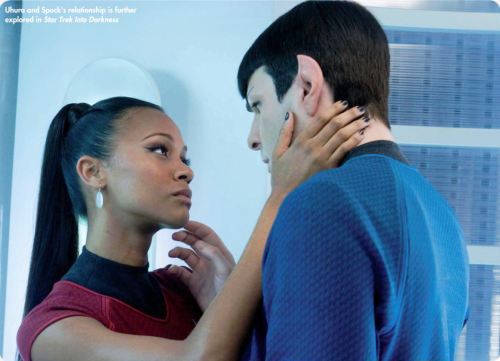 grumpy-lady:  Star Trek Magazine  I ship Spock & Uhura <3